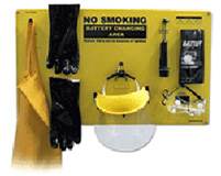 Complete Forklift Battery Protective Handling PPE Kit