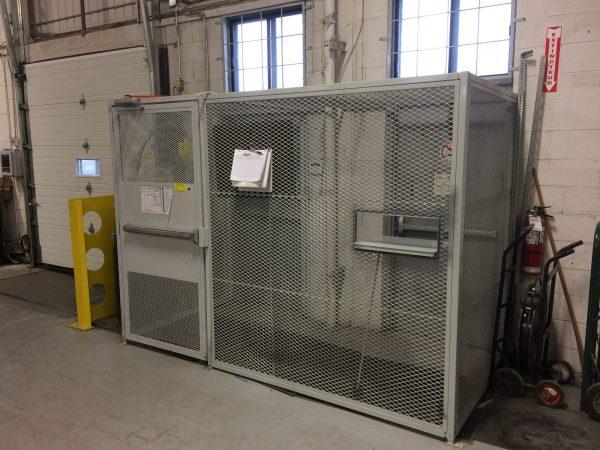 Cage de sécurité interieur / exterieur