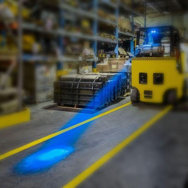 Forklift Rear Spotter