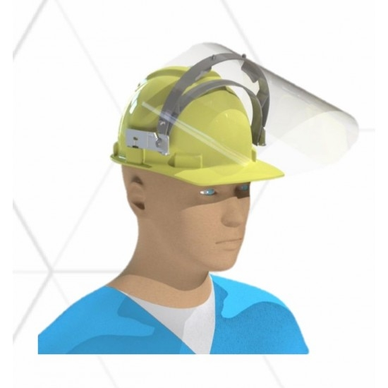 Masks and visors combining safety and protection against COVID-19